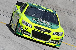 NASCAR Cup Race report Menard captures fourth top-10 finish of 2013 season at Kansas Speedway