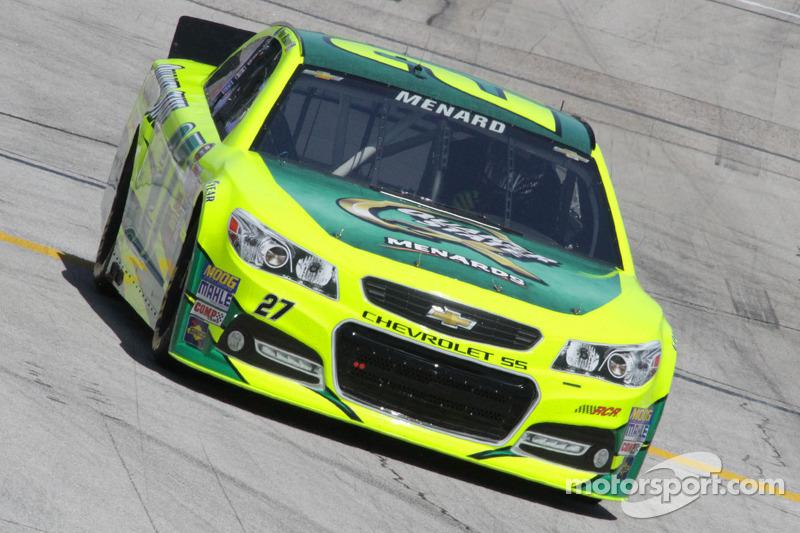 Menard captures fourth top-10 finish of 2013 season at Kansas Speedway
