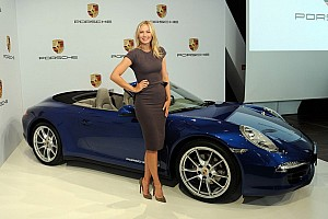 Automotive Breaking news Tennis idol Maria Sharapova to represent Porsche