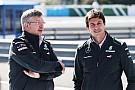 Brawn staying Mercedes team boss - Wolff