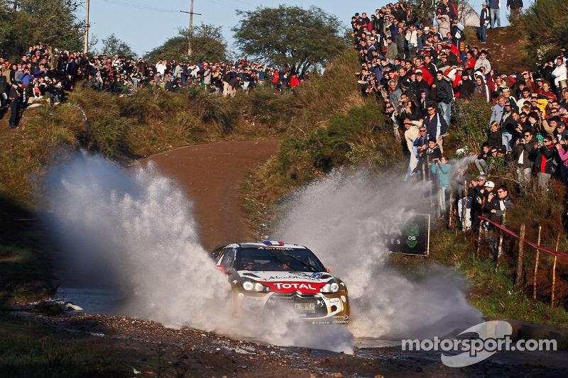 Loeb and Citroen remain unbeaten in Argentina