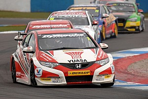 BTCC Race report Neal takes series lead after Thruxton double as others suffer misfortune