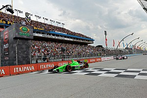 IndyCar Race report Hinchcliffe wins on streets of Sao Paulo to claim second IndyCar series career victory