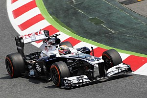 Formula 1 Practice report Day of tests for Williams on Friday practice for the Spanish GP