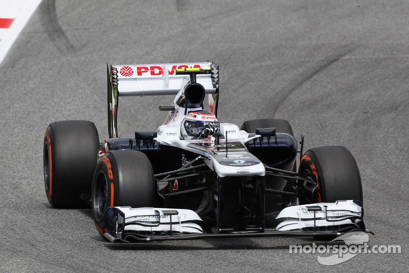 Williams disappointed on qualifying for the Spanish GP