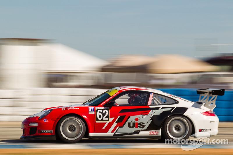 Snow dominates  GT3 Cup Challenge at Mazda Raceway Laguna Seca