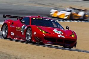 ALMS Race report A race to forget for Risi Competizione in California