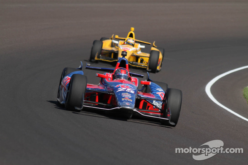 Marco Andretti leads Indy 500 Practice Day 3