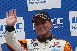 WTCC Race report Podium and points reward for Honda at Salzburgring