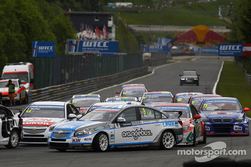 Independents podium for MacDowall at penalty-strewn Salzburg