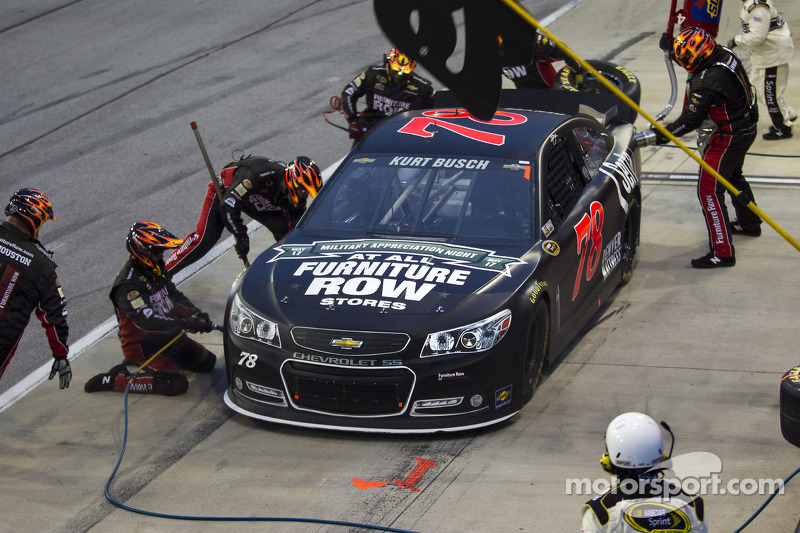 Kurt Busch and FRR prepare for Memorial weekend classic at Charlotte
