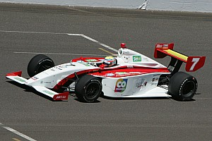 Indy Lights Race report Historic runner-up finish for Chaves at Indianapolis Motor Speedway