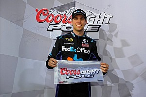 NASCAR Cup Qualifying report Denny Hamlin claims pole at Dover