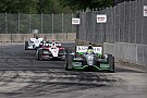 Kanaan finishes 12th, De Silvestro crashes on lap 8 in Race 2 of the Dual in Detroit