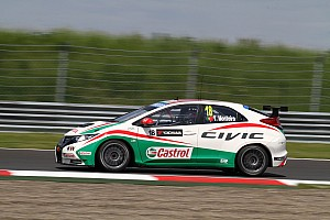 WTCC Qualifying report Tiago Monteiro unable to take part in Moscow qualifying