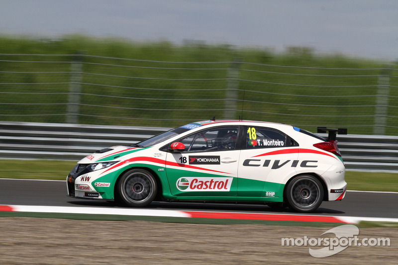 Tiago Monteiro unable to take part in Moscow qualifying