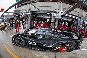 Le Mans Testing report Audi completes Le Mans preparations