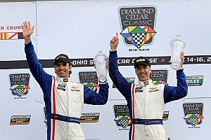 Grand-Am Race report Action Express grabs their first win of 2013 at Mid-Ohio