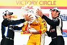 Team Penske on Milwaukee Mile podium