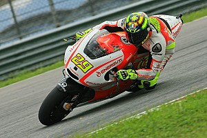 MotoGP Race report Disappointment for Energy T.I. Pramac Racing Team in Catalan GP