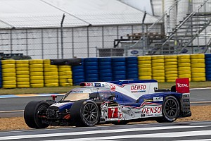 Le Mans Race report Toyota Racing earns Le Mans podium