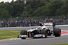 Busy afternoon for Williams on Friday practice at Silverstone