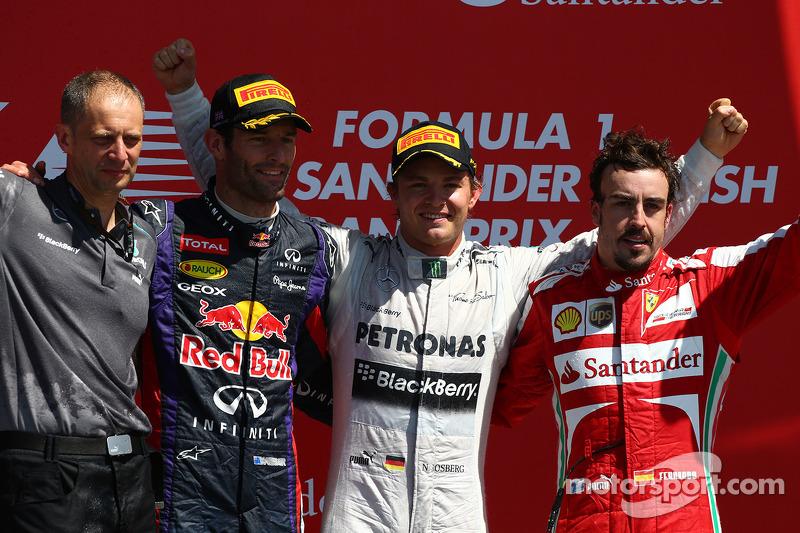 Infiniti Red Bull Racing secures podium in dramatic British Grand Prix