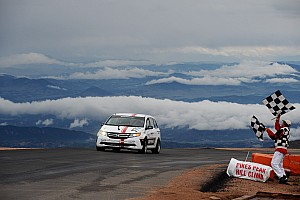 Hillclimb Race report Tigert wins class, Pagenaud stars at Pikes Peak