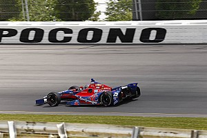 IndyCar Qualifying report Chevrolet dominates qualifying at Pocono