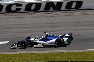 IndyCar Race report KVRT's De Silvestro finishes oval career-high 11th in Pocono