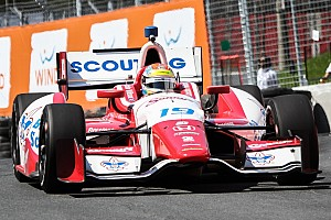 IndyCar Qualifying report Wilson ready for Saturday's standing start at Toronto