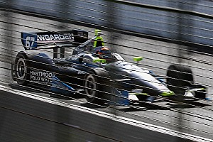 IndyCar Race report Sensor malfunction leaves Newgarden 23rd in Race 1 at Toronto