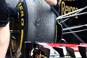 Formula 1 Breaking news Pirelli: Teams try new specification P Zero tyre at Silverstone test