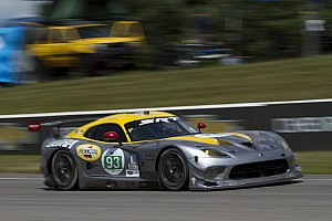 ALMS Race report SRT Viper GTS-R had second and third-place finishes at Mosport