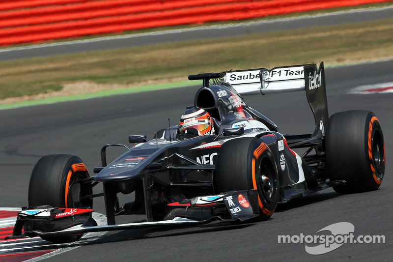 Hulkenberg denies Hungary to be last Sauber drive