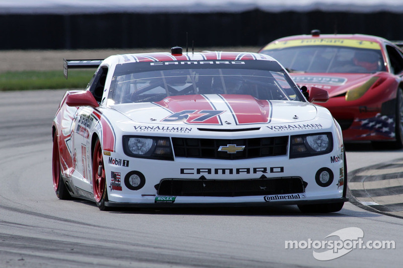Front Row start for Stevenson Motorsports at Indianapolis Motor Speedway