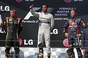 Formula 1 Race report Hamilton achieves his maiden Mercedes victory at the Hungarian Grand Prix