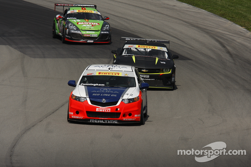 Double podium for RealTime Acuras at Mid-Ohio