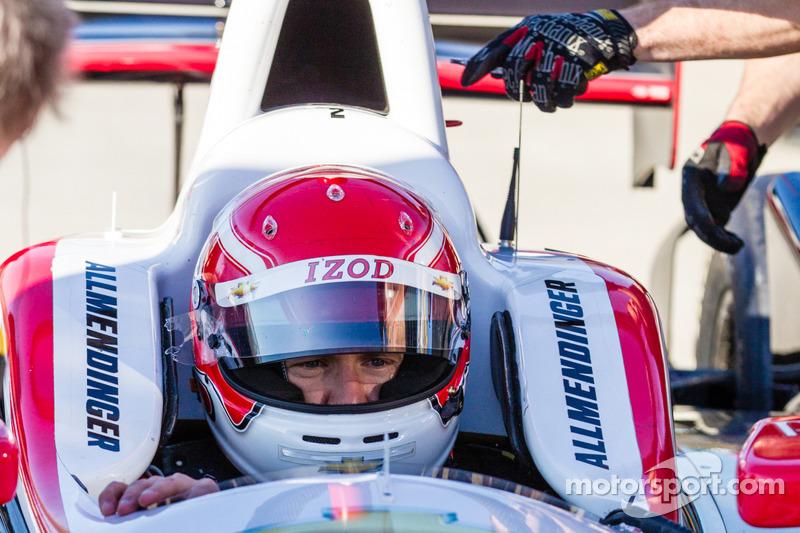 AJ Allmendinger gets all set for Watkins Glen