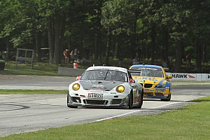 Grand-Am Race report Porsche earns second-place in Road America
