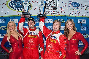 ALMS Race report MOMO NGT Motorsport collects another podium finish at Road America