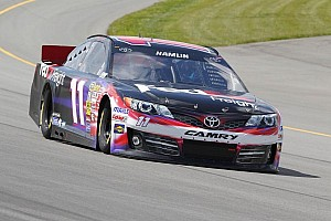 NASCAR Cup Qualifying report Denny Hamlin: Back in the limelight with pole run at Bristol