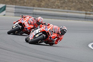 MotoGP Race report Dovizioso, Hayden seventh and eighth in Czech Republic GP