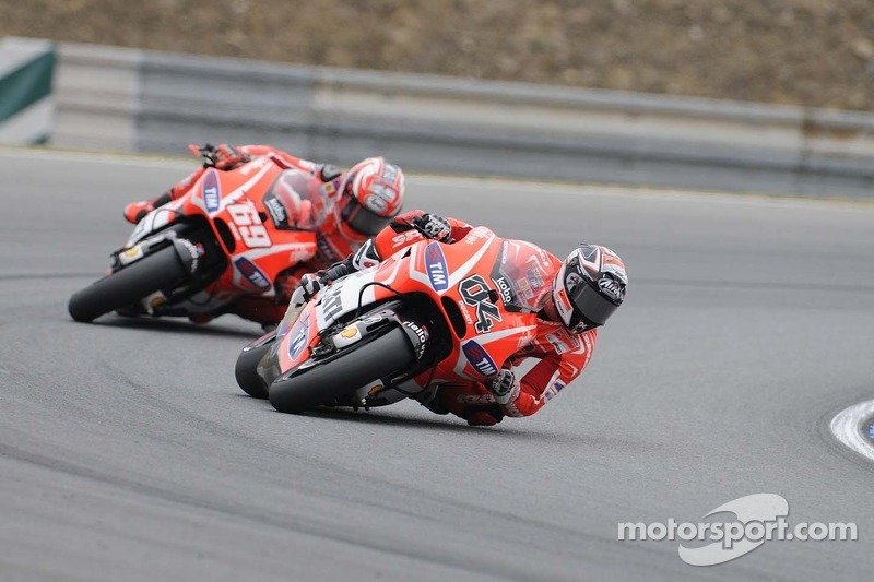 Dovizioso, Hayden seventh and eighth in Czech Republic GP