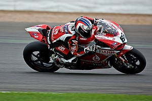 World Superbike Qualifying report A tough start to proceedings for Team SBK Ducati Alstare today at the Ring