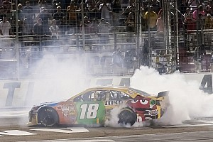 NASCAR Cup Race report Kyle Busch wins at Atlanta to lock into Chase