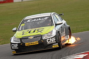 BTCC Race report Tough Rockingham weekend for IP Tech Race Engineering