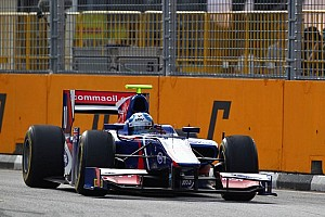 GP2 Race report Palmer triumphs in Singapore feature race