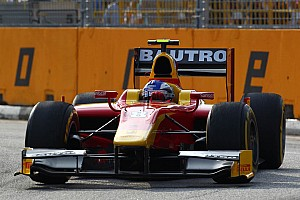 GP2 Race report Leimer and Racing Engineering take 3rd in the Singapore Sprint Race