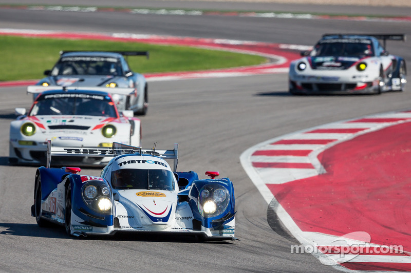 In a uneventful race, Dyson Racing is second at COTA